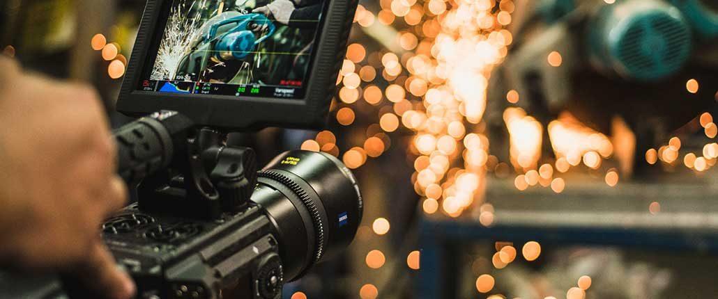 Usare camere Red per filmati e riprese video